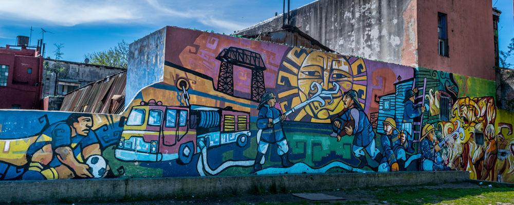 Grafiti en Buenos Aires