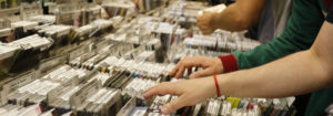 record store night
