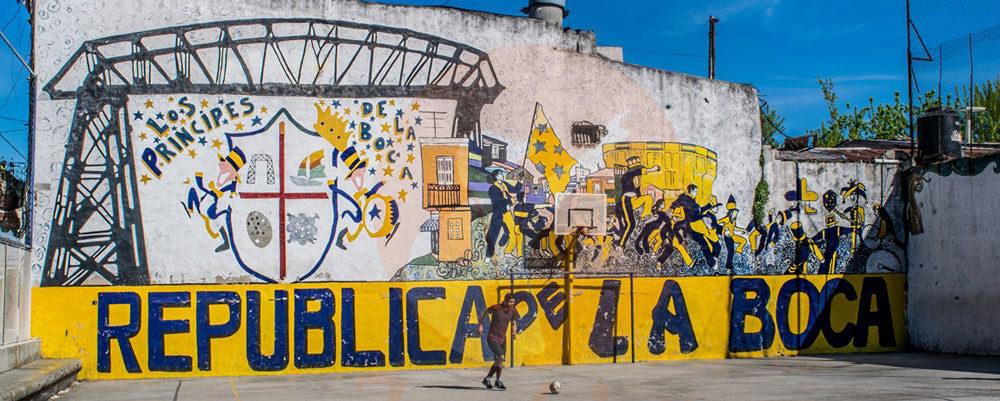 Um dia em La Boca e Puerto Madero