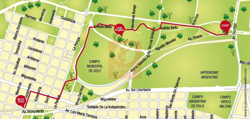 Caminata por Buenos Aires