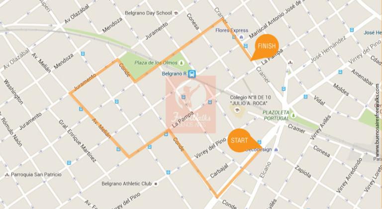 Una Caminata por Belgrano