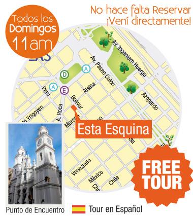 free tour san telmo