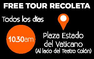 free tour recoleta