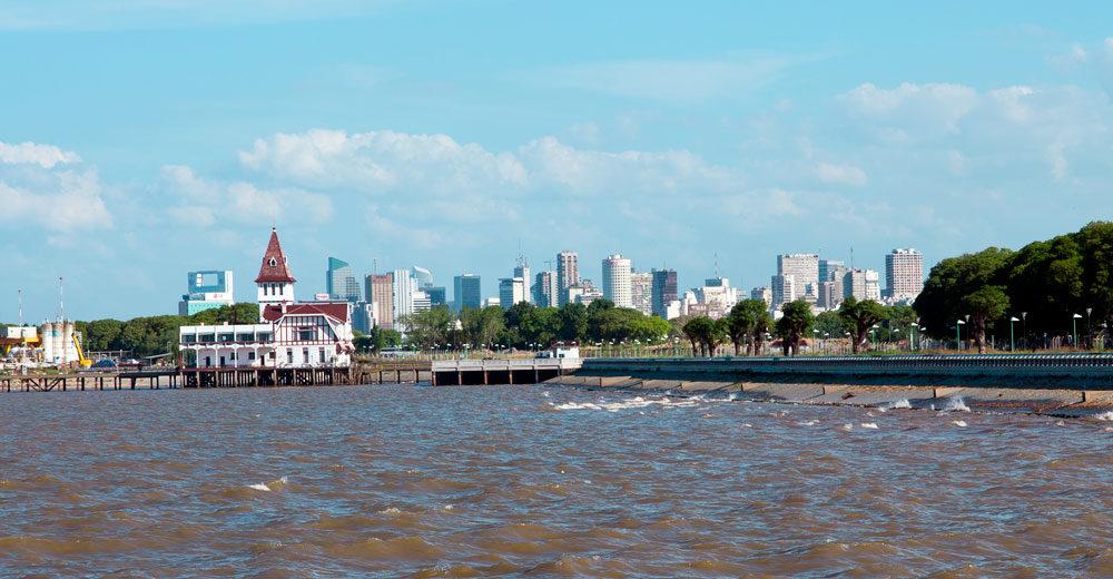 ¿Se puede ver Uruguay desde Buenos Aires?