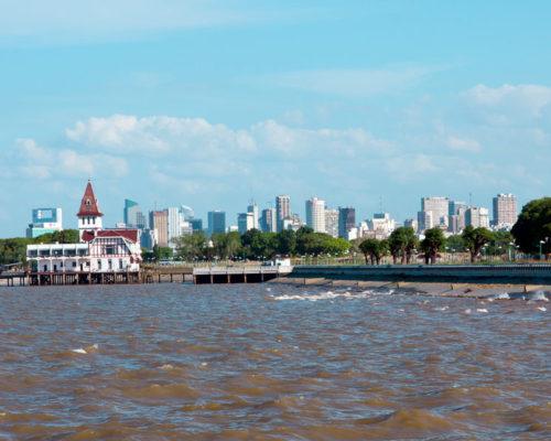 se puede ver uruguay desde buenos aires