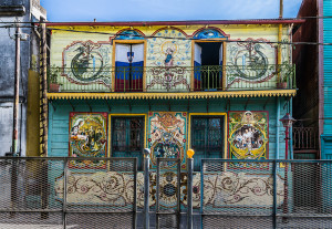 la boca walking tour
