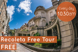 recoleta free tour