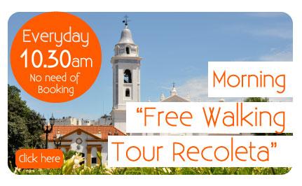 Free Walking Tour Recoleta