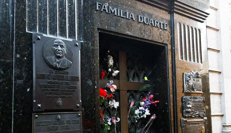 Grave of Evita Perón