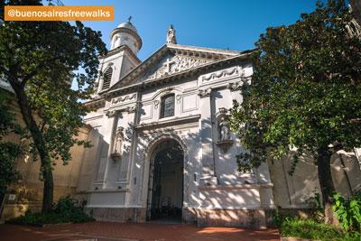 Colonial Buildings Buenos Aires